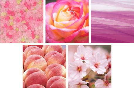 ピンクのイメージ
