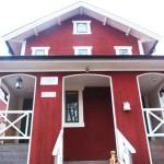 スウェーデンの赤い家1